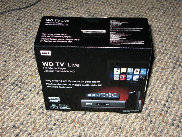 WDTV Live Box