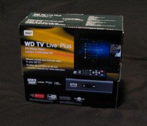 WDTV Live Plus unopened box